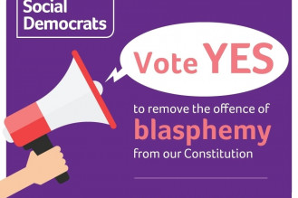 SocDems urge Yes vote to rid Constitution of blasphemy offence