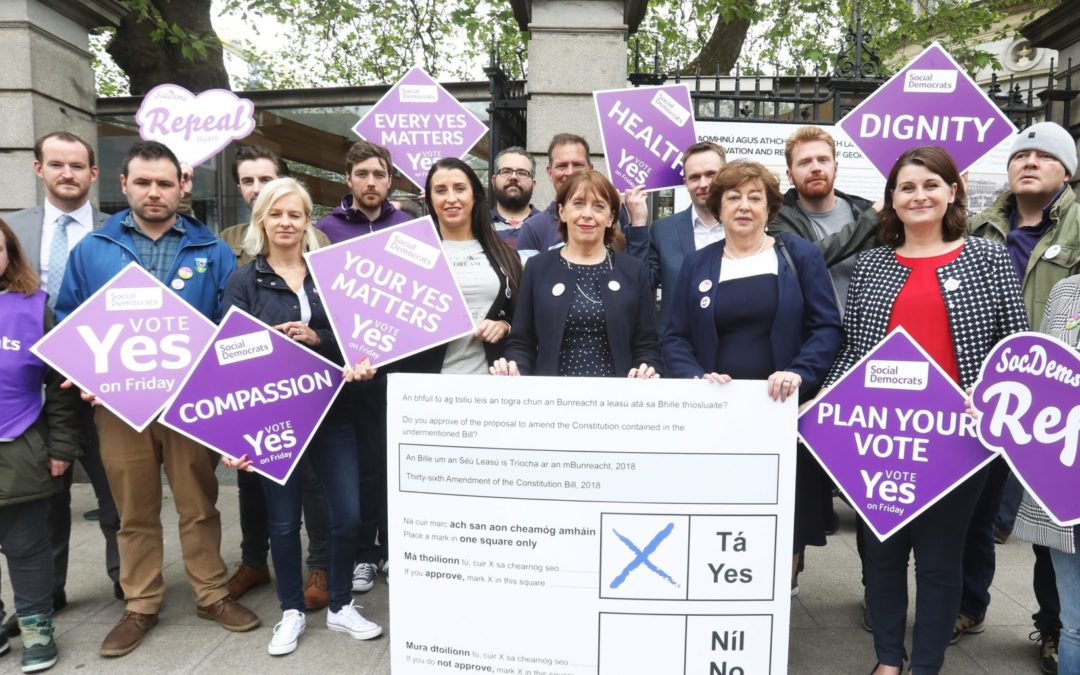 Social Democrats encouraged by hopeful referendum exit poll